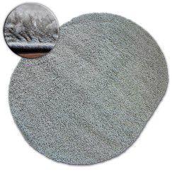 Carpet oval SHAGGY GALAXY 9000 grey