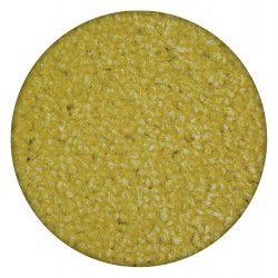 Carpet round ETON yellow