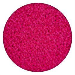 TAPIS cercle ETON rose