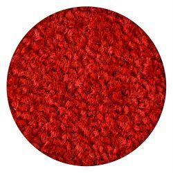 Carpet round ETON red