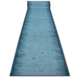 Vastag csúszásgátló futó szőnyeg GABBEH türkiz azték ETHNIC