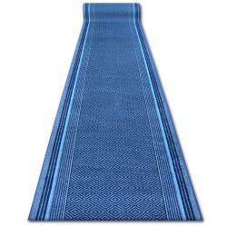 Runner anti-slip JURA blue DIAMONDS