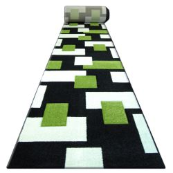 Chodnik HEAT-SET FRYZ PILLY - 7778 czarny zieleń