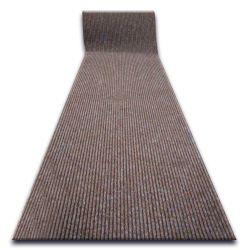 Придверный ковер на погонные метры LIVERPOOL 080 коричневый