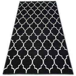 Bcf szőnyeg BASE 3770 KONICZYNA fekete Trellis