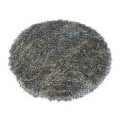 Okrúhly koberec LOVE SHAGGY model 93600 taupe