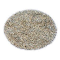 Tapis LOVE SHAGGY cercle modèle 93600 beige