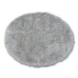 Carpet LOVE SHAGGY circle design 93600 silver