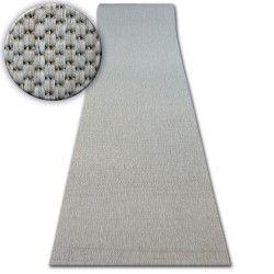 PASSADEIRA SIZAL FLOORLUX modelo 20433 prata Cor sólida