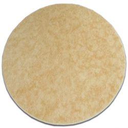 Carpet round SERENADE gold