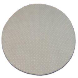 Carpet round AKTUA 143 beige