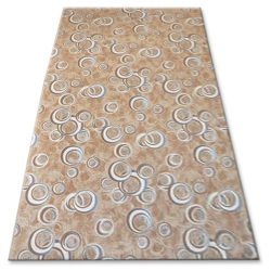Fitted carpet DROPS 033 beige