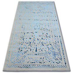 Akril manyas szőnyeg 0916 Szürke/Kék