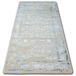 Akril manyas szőnyeg 0920 Kék/Elefántcsont