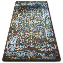 Akril manyas szőnyeg 0920 Barna/Kék