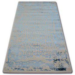 Akril manyas szőnyeg 0920 Elefántcsont/Kék