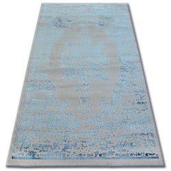 Akril manyas szőnyeg 0917 Szürke/Kék