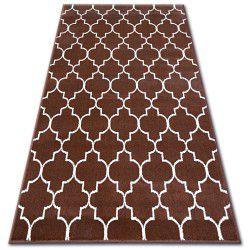 Bcf szőnyeg BASE 3770 KONICZYNA barna Trellis