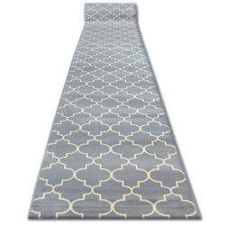 Bcf futó szőnyeg BASE 3770 szürke Lóhere Marokkói Trellis