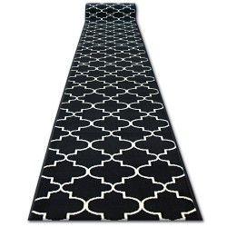 Bcf futó szőnyeg BASE 3770 fekete Lóhere Marokkói Trellis