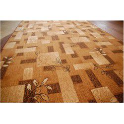 Fitted carpet AMALIA brown