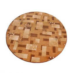 Kulatý koberec AMALIA hnědý