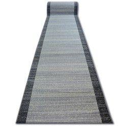 Alfombra de pasillo BCF BASE 3945 Rayas gris STRIPES
