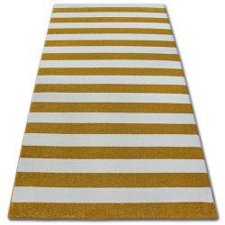 Sketch szőnyeg - F758 arany/krém - Csíkok