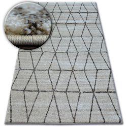 Shadow szőnyeg 818 krém / l. Bézs - Háromszögek