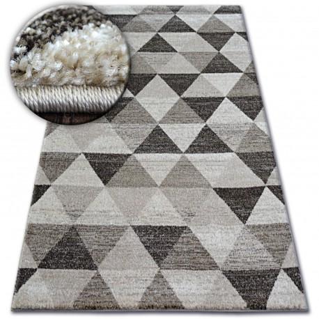 Carpet SHADOW 636 l. beige / cream - Triangles