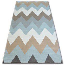 Tapis ARGENT - W4936 Zigzag Bleu