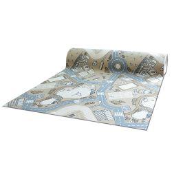 Antypoślizgowa wykładzina dywanowa pour enfants STREET RUE beige