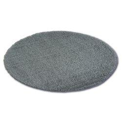 Tepih krug čupavi MICRO antracit