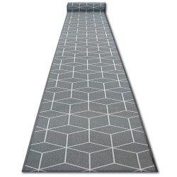 Runner anti-slip SKY grey HEXAGON