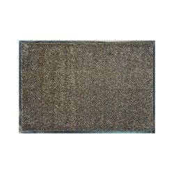 Doormat MOOREA brown microfiber