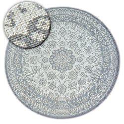 Sisal-hjuletæppe SISAL FLAT 48691/637 glasmaleri