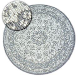 Tepih krug NIZ SISAL FLAT 48691/637 VITRAŽ