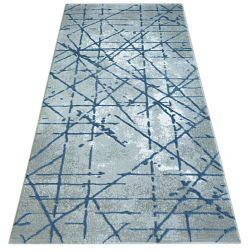 Covor Vals 3949 gri și albastru