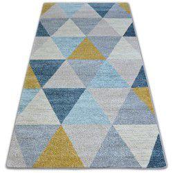 Nordic szőnyeg HÁROMSZÖGEK szürke/krém G4580