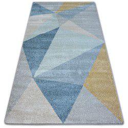 Carpet NORDIC SOLID cream/blue G4576