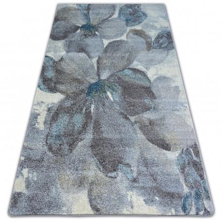 Carpet NORDIC FLOWERS grey/brown FD291