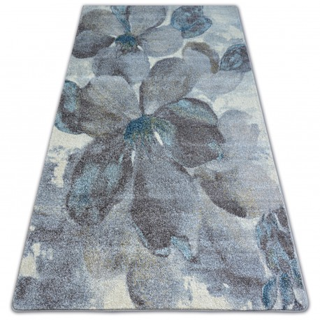 Ковер NORDIC цветы серый/коричневый FD291
