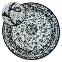 Kulatý koberec FLAT 48691/690 SISAL - vitráže