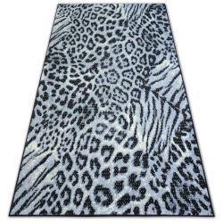 Tæppe BCF FLASH AFRICA 3913 sort/grå