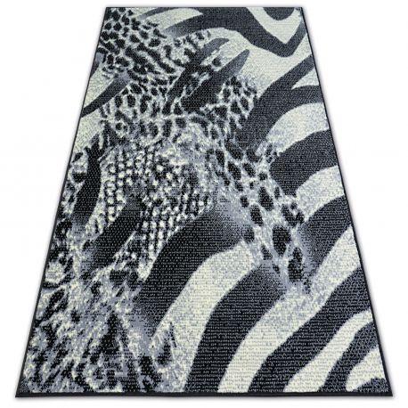 Teppich BCF FLASH SAFARI 3912 schwarz/grau