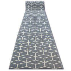 Běhoun BCF BASE 3956 CUBE šedá čtverce