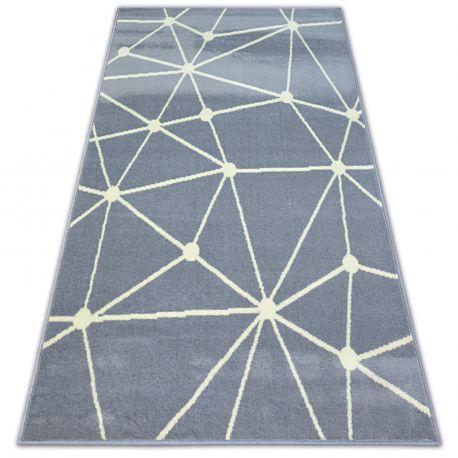 Килим BCF BASE GALAXY 3925 трикутники сірий