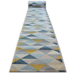 Behúň NORDIC trojuholníky sivá/ krémová G4580
