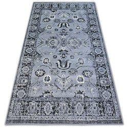Carpet BCF BASE CLASSIC 3845 ROSETTE grey/black