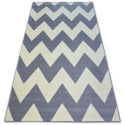 Carpet BCF BASE ZICK 3963 ZIGZAG grey